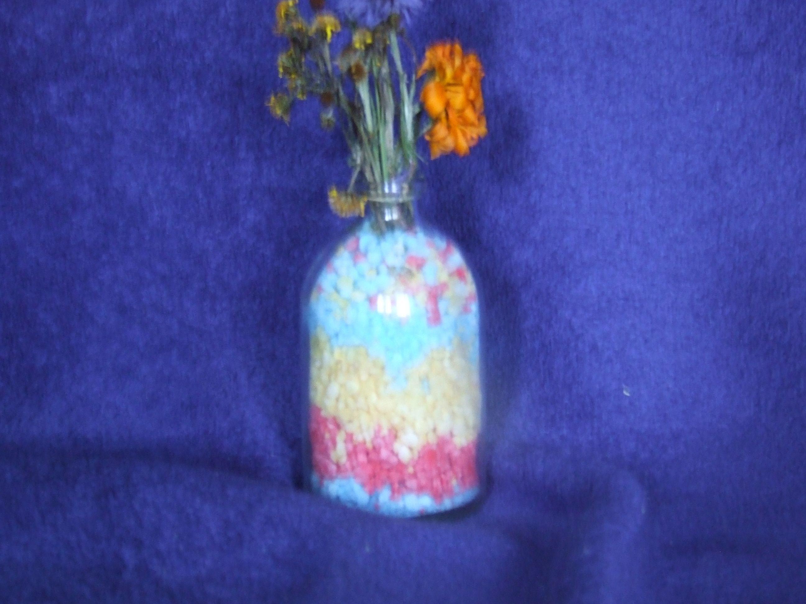 Petit pot de fleur au sel color - Petit pot de fleur ...